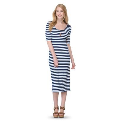 Junior's Printed Midi Dress
