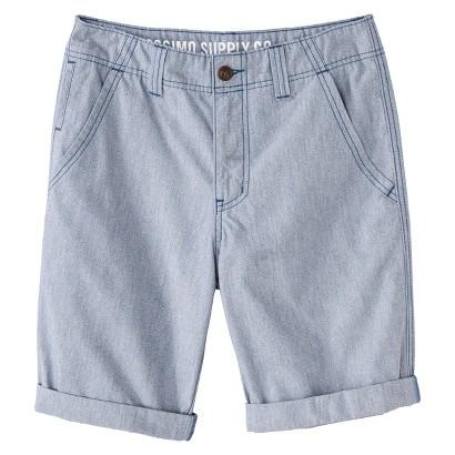 Mossimo Supply Co. Men's Cuffed Shorts - Amparo Blue