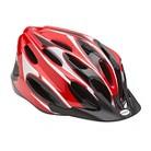 Schwinn Adult Thrasher Helmet- Red/Black