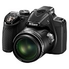 Nikon P530 16.1MP Digital Camera with 42X Optical Zoom - Black