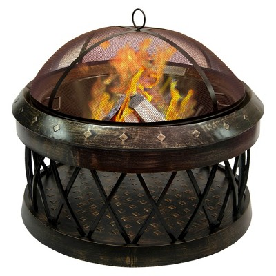 Landmann Bartow Firepit in Antique Bronze