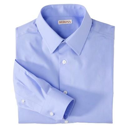 Merona Men's Tailored Fit Dress Shirt