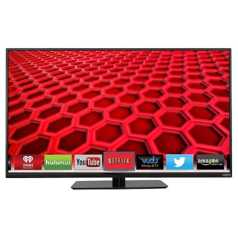 """VIZIO 40"""" Class 1080p 120Hz Full-Array LED Smart TV - Black (E400i-B2)"""