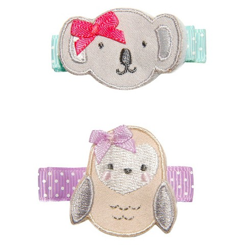 Just One You™Made by Carter's® Newborn Girls' Owl/Koala Clippies