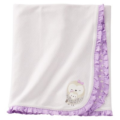 Just One You™Made by Carter's® Newborn Girls' 3 Owl Swaddle Blanket - Purple