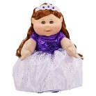 Cabbage Patch Kids Holiday Kid, Brunette with Purple Dress