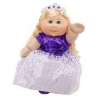 Cabbage Patch Kids Holiday Kid, Blond with Purple Dress