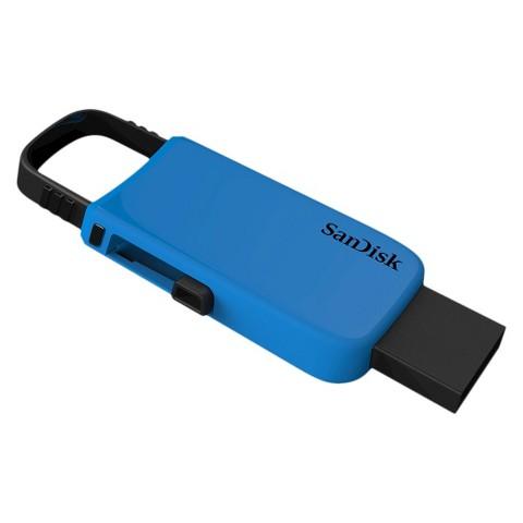 Sandisk Fashion 16GB USB Flash Drive Keychain - Blue (SDCZ59-016G-T46B)
