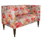 Custom Upholstered Settee