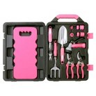 Apollo Tools Pink Garden Tool Kit - 11pc
