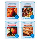 Wax Free Fragrance Disks 4 pack Assortment Set - Spice Scents