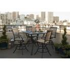 Threshold™ Harriet 5-Piece Sling Balcony Height Patio Dining Furniture Set