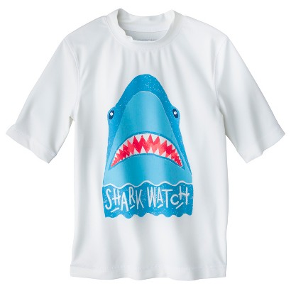 Boys' Short-Sleeve Swim Rashguard