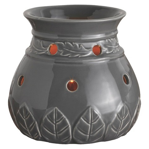 Wax Free Warmer Set-2 Extra Fragrance Disks included - Grey Deluxe