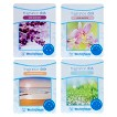 Wax Free Fragrance Disks 4 pack Assortment Set - Outdoor Scents