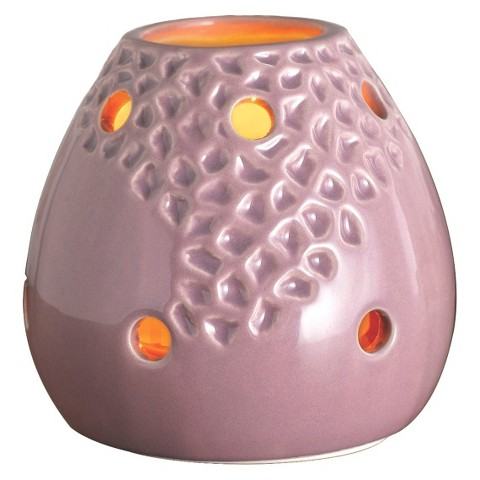 Wax Free Warmer Set-2 Extra Fragrance Disks included - Purple Cascade