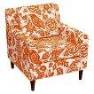 Skyline Custom Upholstered Arm Chair