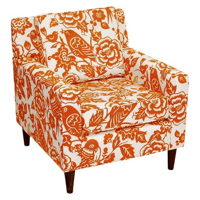 skyline custom upholstered arm chair product details page