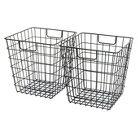 Room Essentials™ Wire Decorative Basket Set of 2 - Black