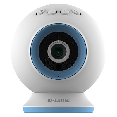 D-Link Wi-Fi HD Baby Video Monitor Camera - White (DCS-825L)