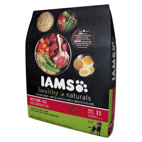 Iams Healthy Naturals Lamb & Rice 12.5LB-23.2LB
