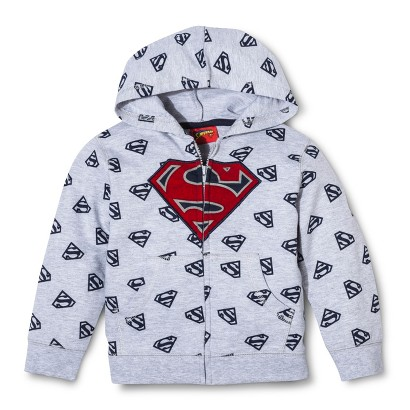 Superman Hooded Jacket for Infant and Toddler Boys