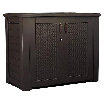 Ecom Deck Box Rubber 9.59cuft BRN