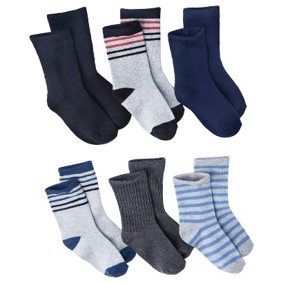 Circo® Infant Toddler Boys' Assorted Casual Socks - Blue