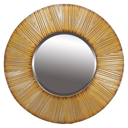 "24"" Beveled Mirror - Gold"