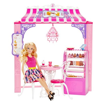 Barbie Life in the Dreamhouse Cafe and Doll Playset