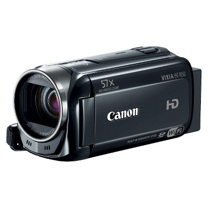 Canon VIXIA HF R50 Flash Memory Digital Camcorder with HD-1080p - Black