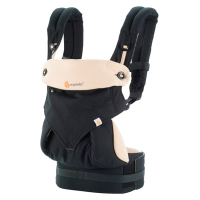 Ergobaby 360 4 Position Baby Carrier - Black & Camel