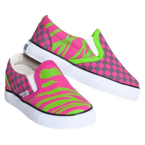 Toddler Girl's Xolo Shoes Hot-Z Canvas Sneakers - Pink