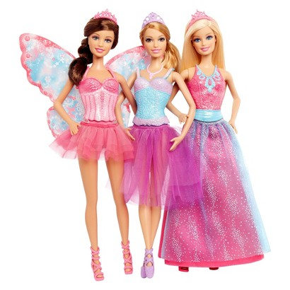 Barbie Fairy Tale Barbie Doll Gift Set