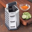 CHEFS 6-sided Stainless Steel Box Grater