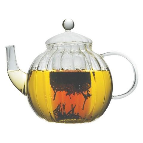 Primula Sophe 40oz Glass Tea Pot