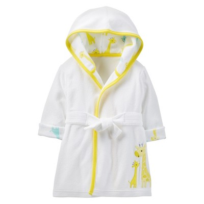 Just One You™Made by Carter's® Newborn Girraffe Robe - Yellow