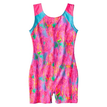 Freestyle® by Danskin® Girls' Biketard - Bright Pink