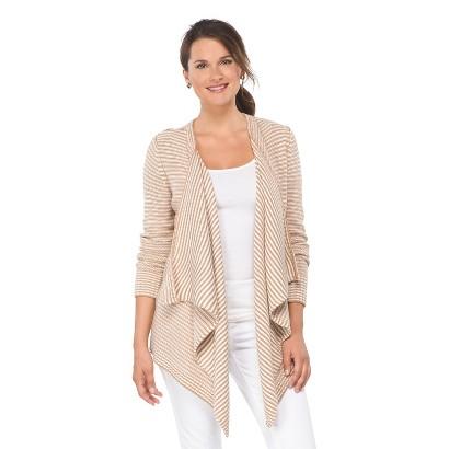 Striped Chunky Cardigan Sweater - Merona