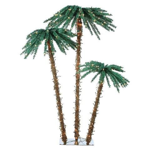 Pre-lit Palm Tree Set (3.5-5-6ft)