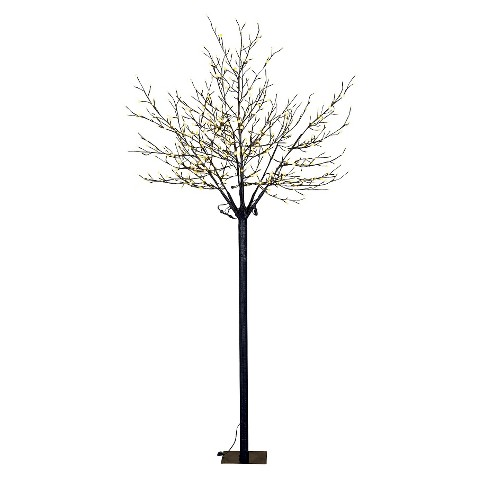 Warm White Pearl LED Blossom Tree - 8 ft