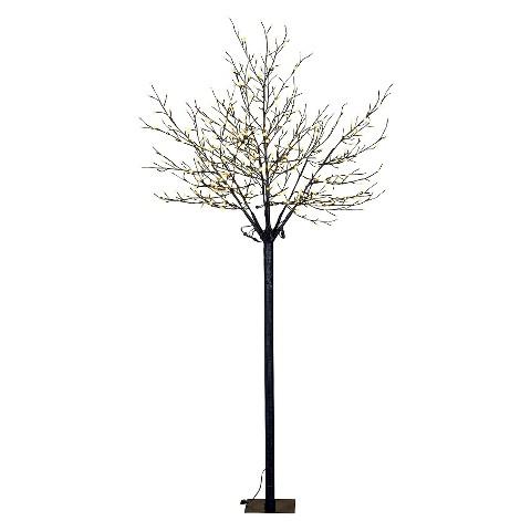 Warm White Pearl LED Blossom Tree - 8 ft