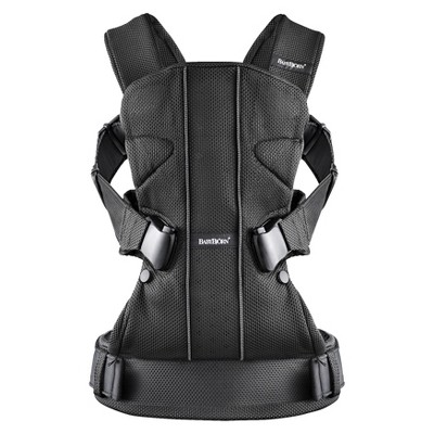 BabyBjörn Baby Carrier One - Black Mesh
