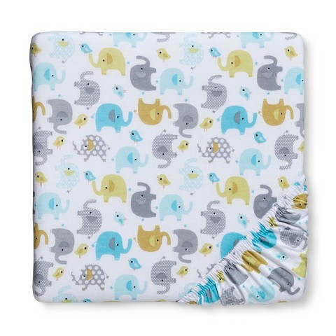 Circo® Woven Fitted Crib Sheet - Trunks of Love