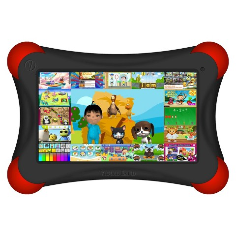 Visual Land Prestige Pro FamTab 8GB 1.6GHz Dual Core Android Tablet - Assorted Colors