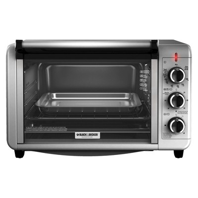 BLACK + DECKER Stainless Steel 6-Slice Convection Toaster Oven