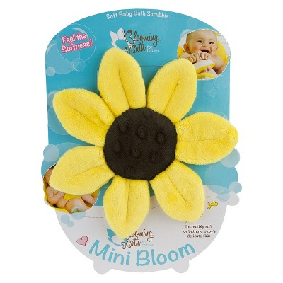 Blooming Bath Mini Bloom Scrubbie - Canary Yellow