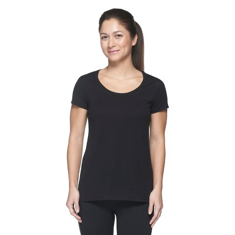 C9 by Champion® Women's Scoop Neck Performance Cotton Tee