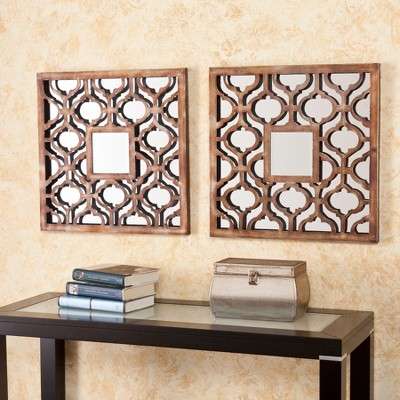 Southern Enterprises Decorative Wall Mirrors in Bronze