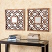 Southern Enterprises Decorative Wall Mirror - Brown